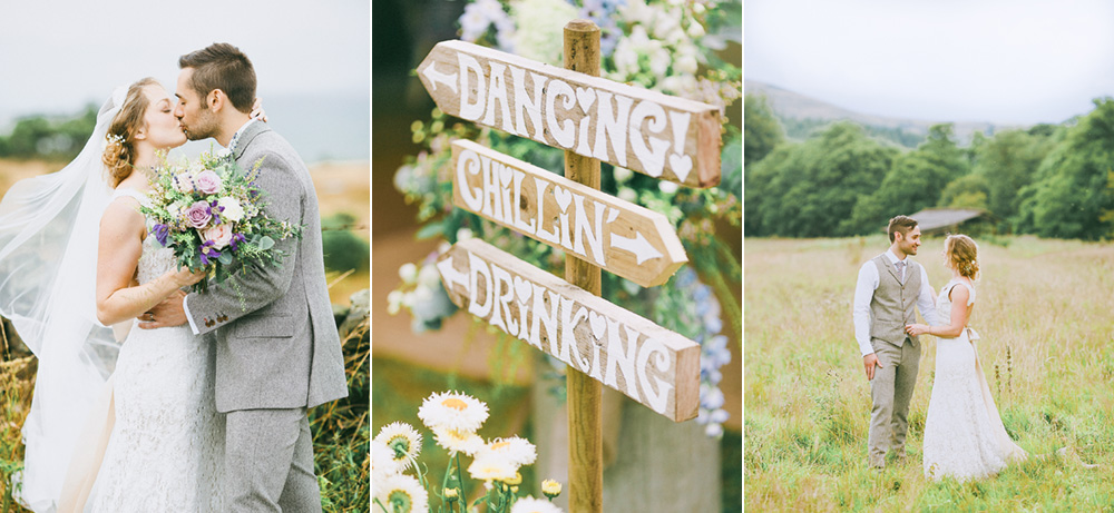 rustic leeds wedding
